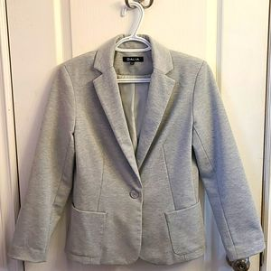Dalia Heathered Grey Blazer
